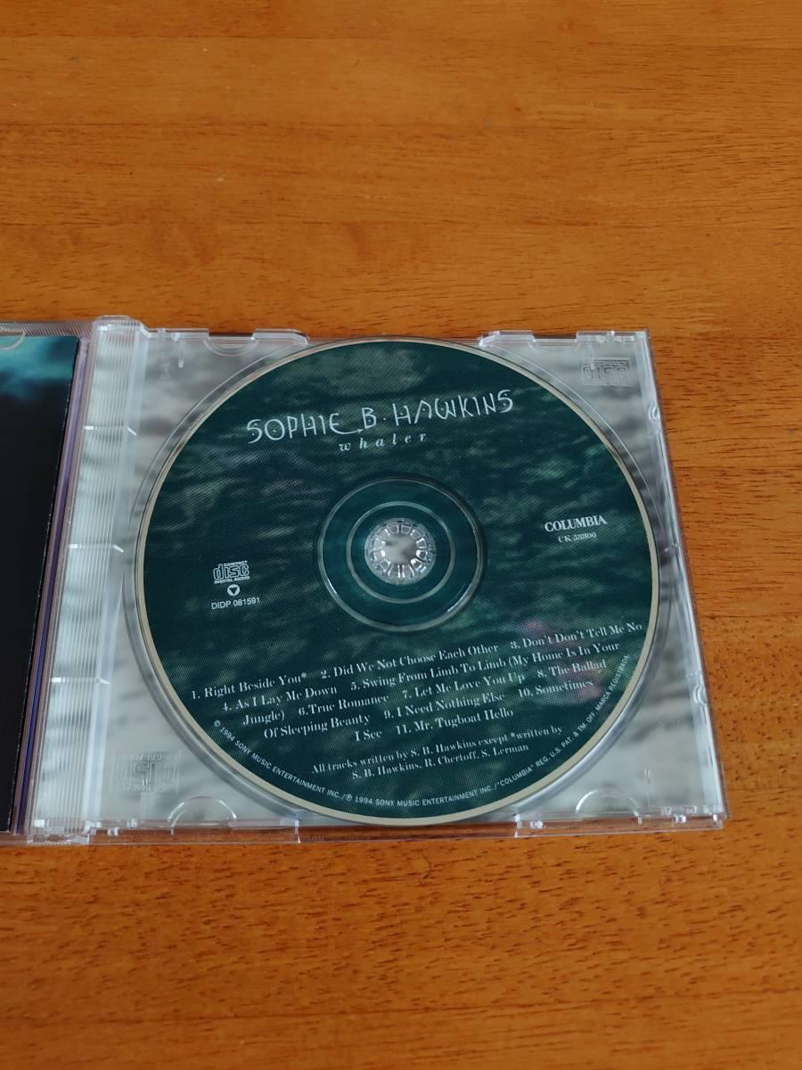 SOPHIE B.HAWKINS/whaler ソフィー・B.ホーキンス/ウェーラー 輸入盤 【CD】_画像3
