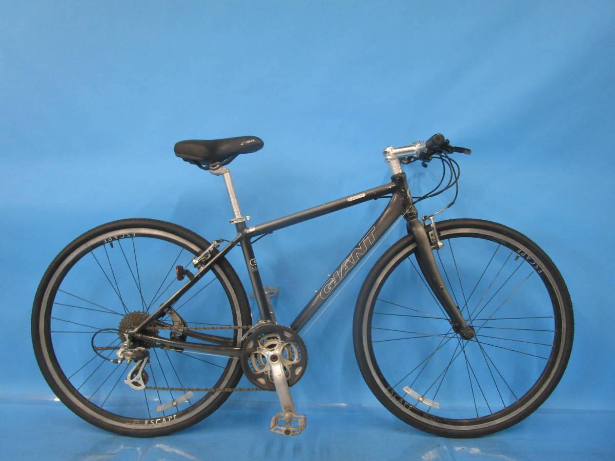 ☆大阪西淀☆ GIANT ESCAPE R3 前後タイヤ新品 アルミ クロスバイク XSサイズ 700C 3×8 ジャイアント エスケープ ALTUS 中古 自転車 JL93_画像1