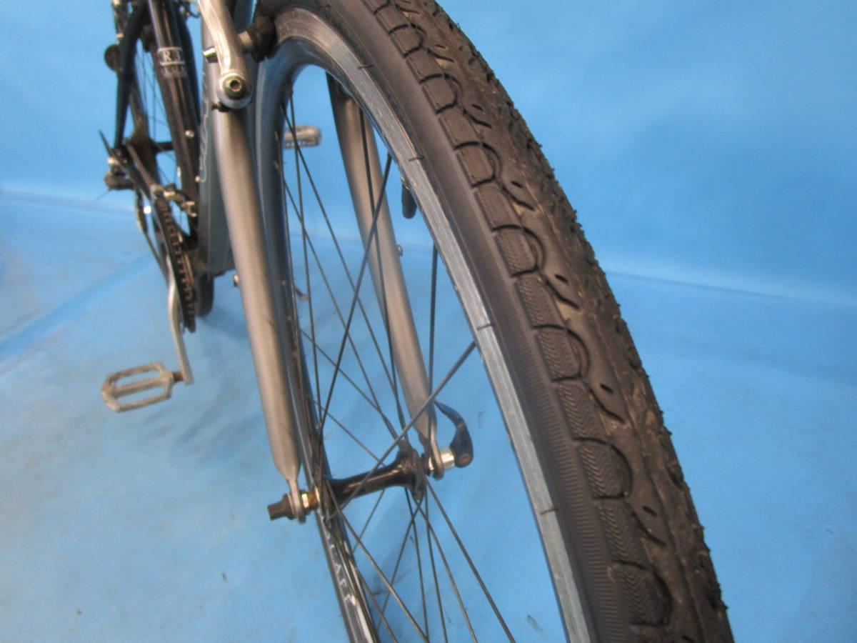 ☆大阪西淀☆ GIANT ESCAPE R3 前後タイヤ新品 アルミ クロスバイク XSサイズ 700C 3×8 ジャイアント エスケープ ALTUS 中古 自転車 JL93_前後タイヤ新品