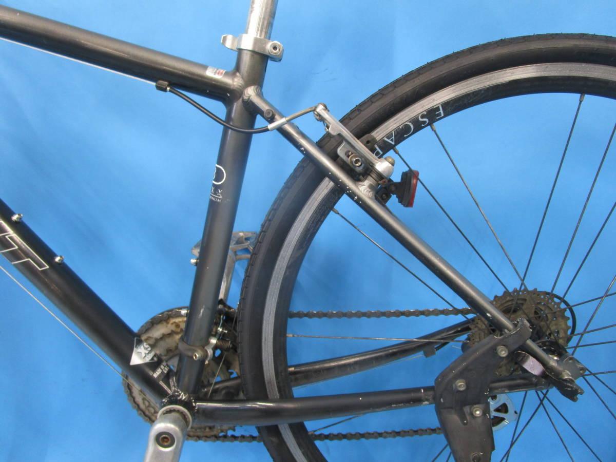☆大阪西淀☆ GIANT ESCAPE R3 前後タイヤ新品 アルミ クロスバイク XSサイズ 700C 3×8 ジャイアント エスケープ ALTUS 中古 自転車 JL93_画像9