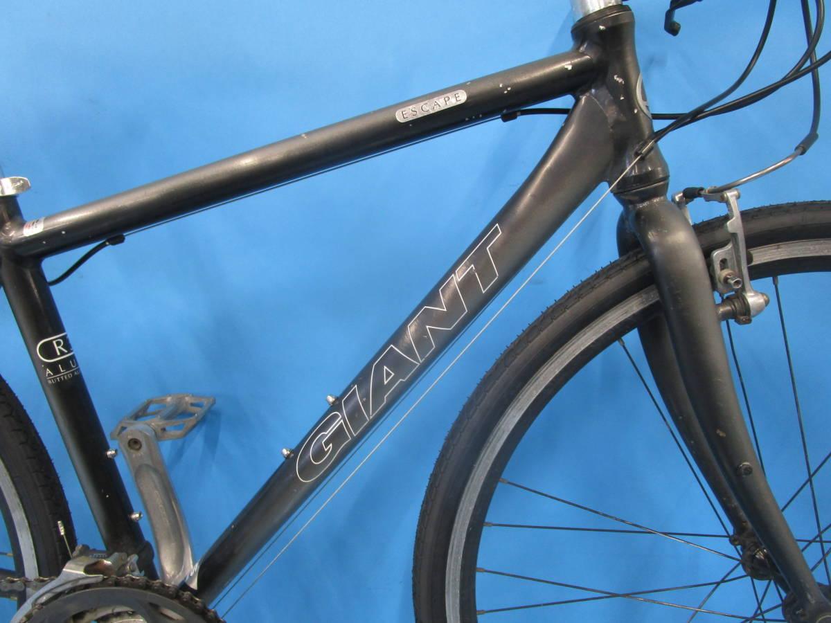 ☆大阪西淀☆ GIANT ESCAPE R3 前後タイヤ新品 アルミ クロスバイク XSサイズ 700C 3×8 ジャイアント エスケープ ALTUS 中古 自転車 JL93_画像4