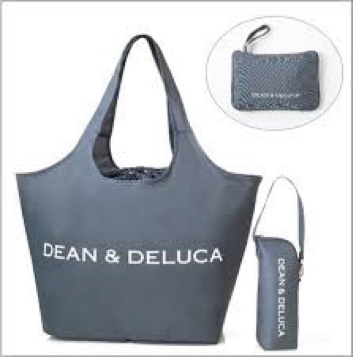 DEAN&DELUCA エコバッグ ディーン&デルーカ ショッピングバッグ トートバッグ オトナミューズ 保冷バッグ
