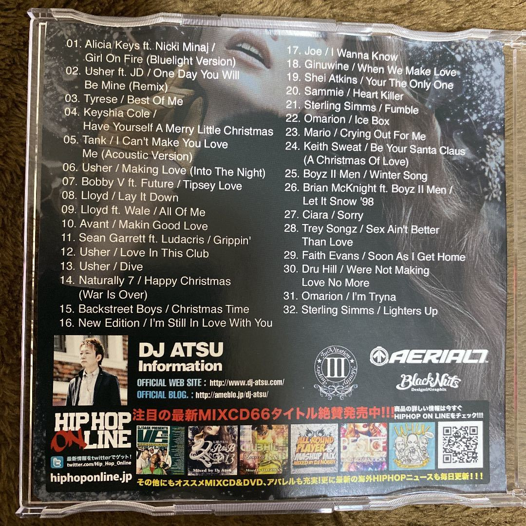 【DJ ATSU】冬に聴きたいR&B 2013【MIX CD】【廃盤】【送料無料】