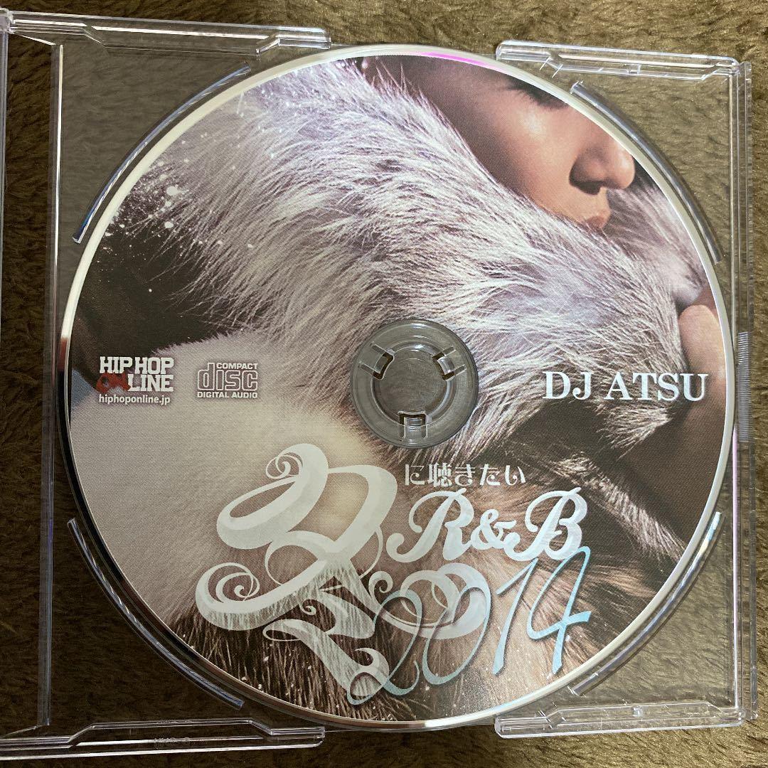 【DJ ATSU】冬に聴きたいR&B 2014【MIX CD】【廃盤】【送料無料】