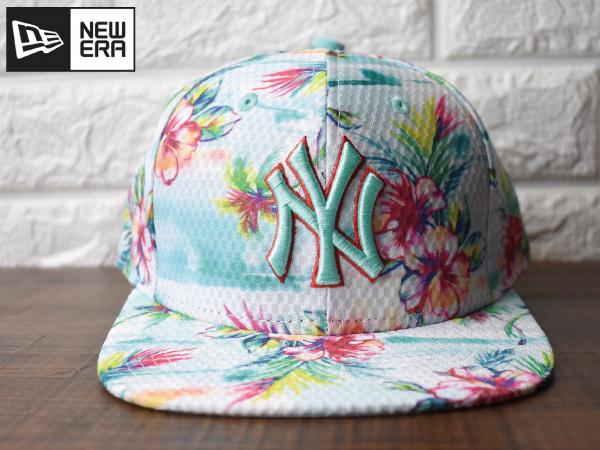 〔未使用品〕H432 NEW ERA × NY Yankees ヤンキース MLB 9 FIFTY Original Fit (フリーサイズ) ニューエラ キャップ 帽子_画像2