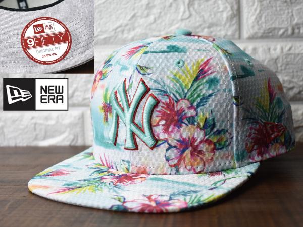 〔未使用品〕H432 NEW ERA × NY Yankees ヤンキース MLB 9 FIFTY Original Fit (フリーサイズ) ニューエラ キャップ 帽子_画像1