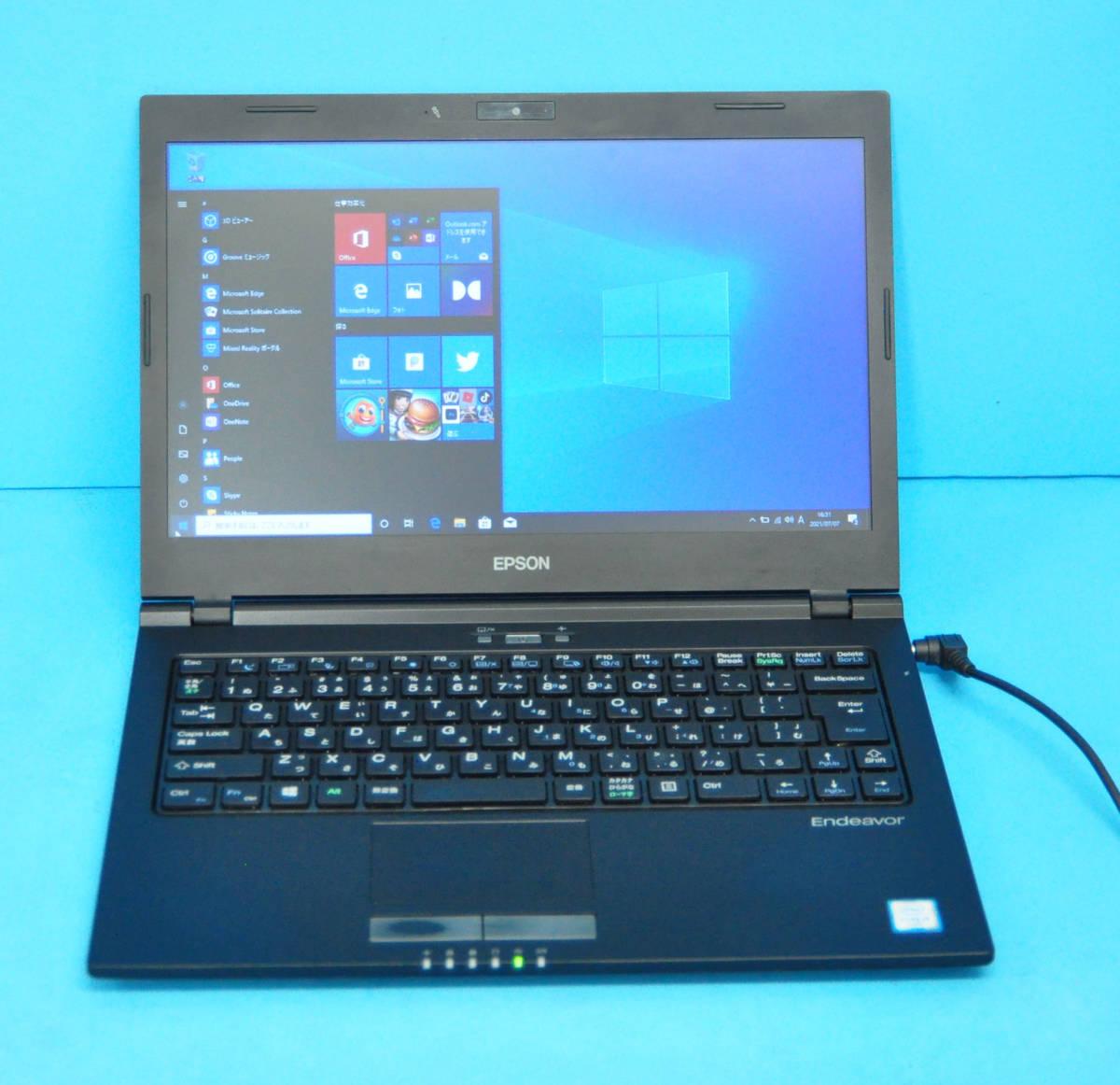 ★ 上位モデル 高速SSD 13.3インチ NA512E ★ Core i5-6200U 2.3GHz メモリ8GB 新SSD256GB カメラ Wlan Office2019 Win10Pro64_画像1