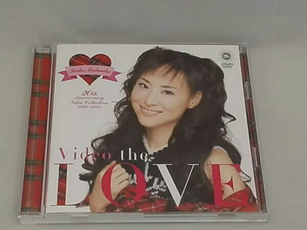 Video the LOVE 松田聖子 Video Collection 1996-2000 コンサートグッズの画像