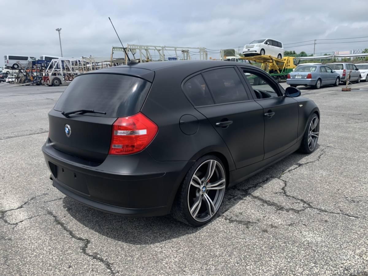 「激安売り切り実走行51600キロ BMW 116i  ソリッドクロ、プッシュスタート アルミダウンサス  ナビ ETC」の画像3