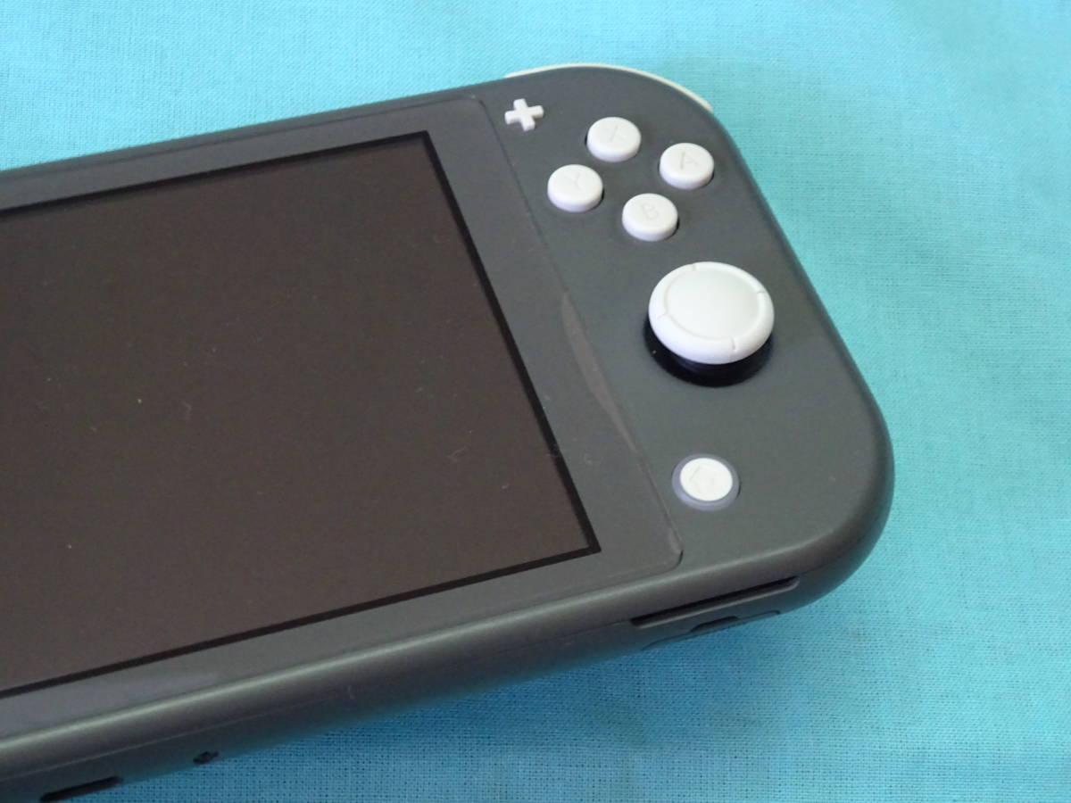 Nintendo Switch Lite ニンテンドースイッチ ライト グレー 本体+箱のみ_画像3