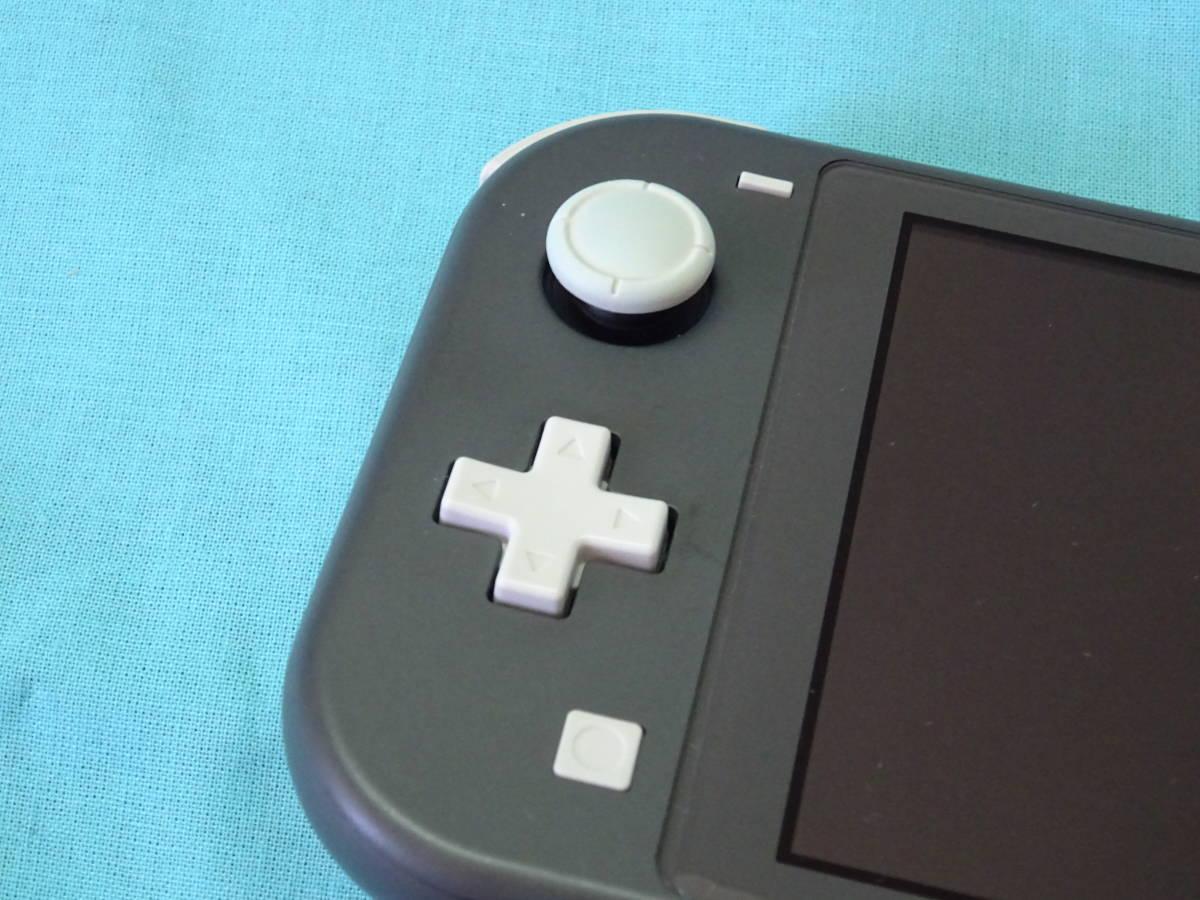Nintendo Switch Lite ニンテンドースイッチ ライト グレー 本体+箱のみ_画像4