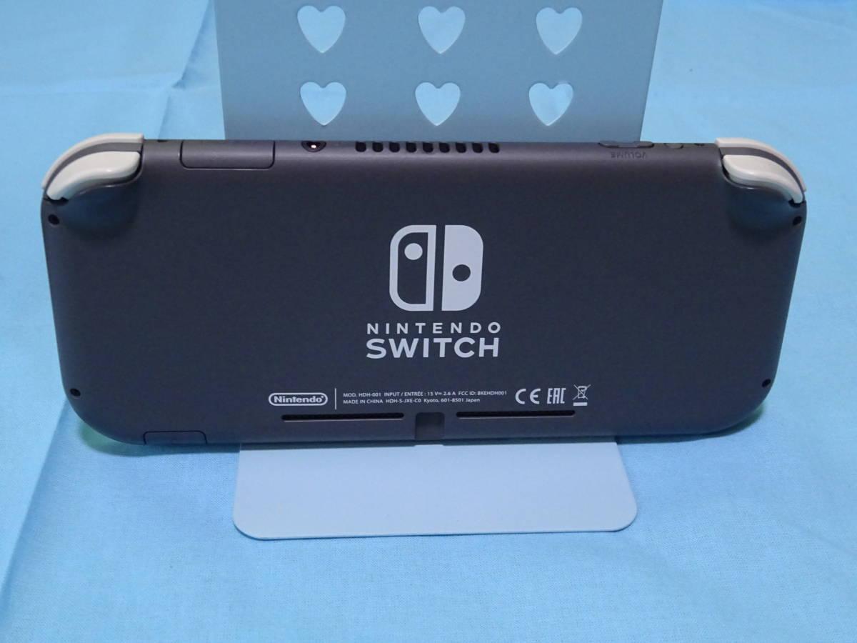 Nintendo Switch Lite ニンテンドースイッチ ライト グレー 本体+箱のみ_画像5