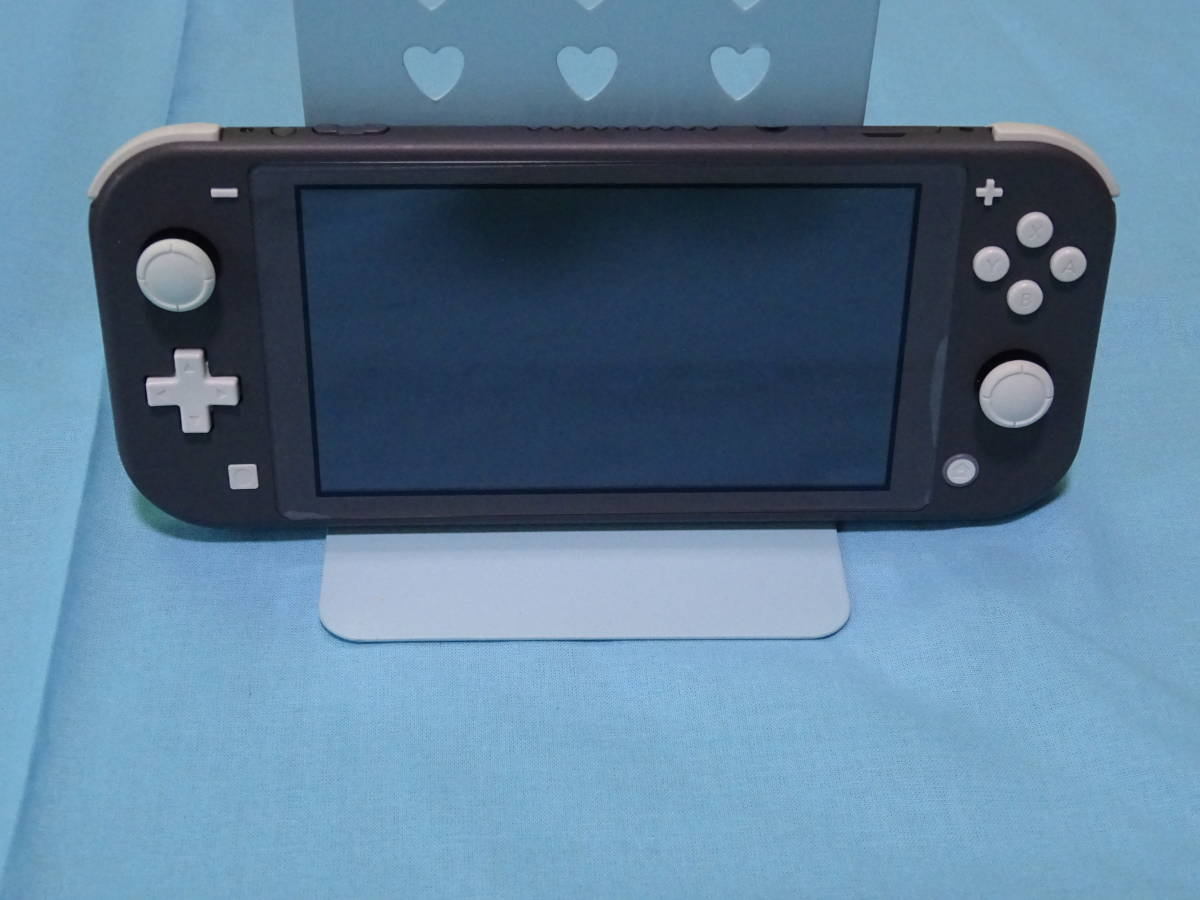 Nintendo Switch Lite ニンテンドースイッチ ライト グレー 本体+箱のみ_画像6