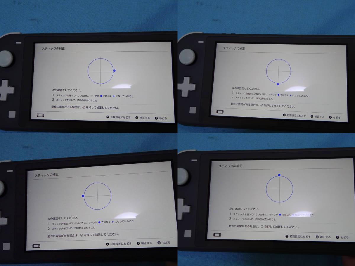 Nintendo Switch Lite ニンテンドースイッチ ライト グレー 本体+箱のみ_画像10