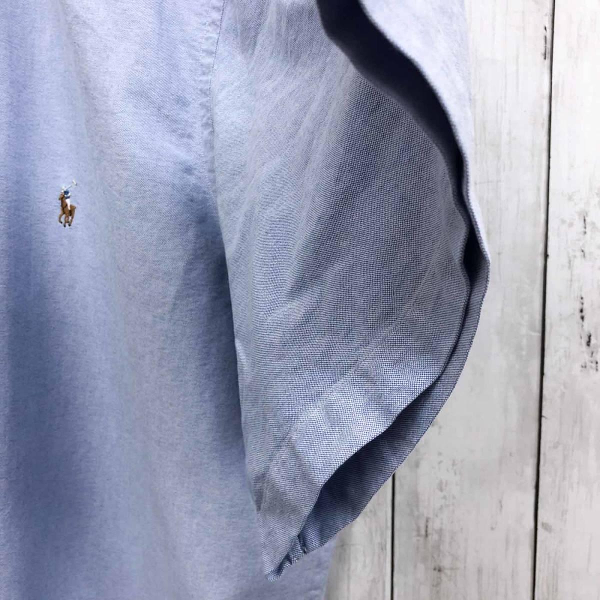 ラルフローレン POLO Ralph Lauren Polo 半袖シャツ メンズ ワンポイント 3XLサイズ 7-167_画像7