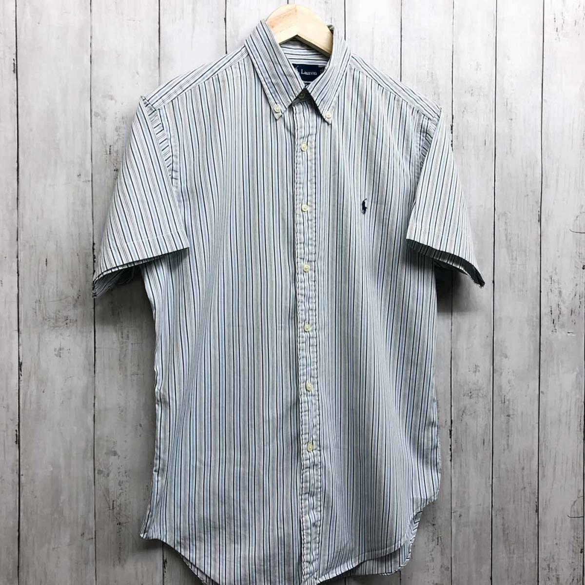 ラルフローレン POLO Ralph Lauren Polo 半袖シャツ メンズ ワンポイント サイズ15(S~Mサイズ相当) 7-177_画像3