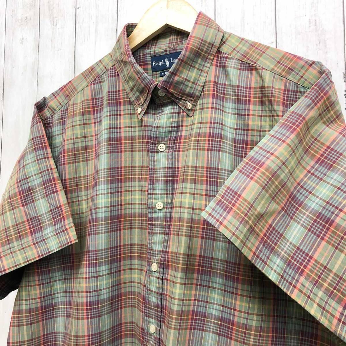 ラルフローレン POLO Ralph Lauren Polo 半袖シャツ メンズ ワンポイント XXLサイズ(2XLサイズ) 7-180_画像2