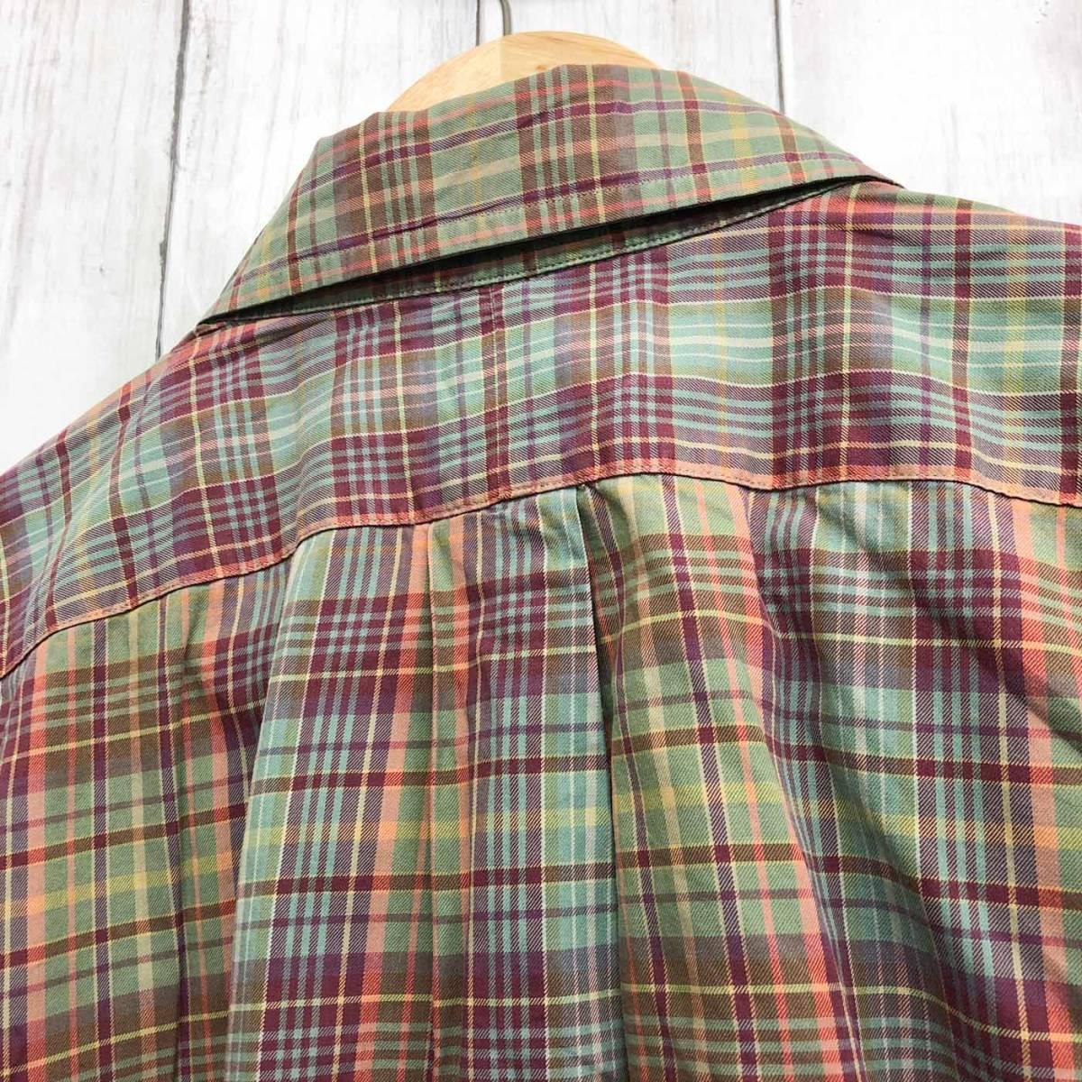 ラルフローレン POLO Ralph Lauren Polo 半袖シャツ メンズ ワンポイント XXLサイズ(2XLサイズ) 7-180_画像8