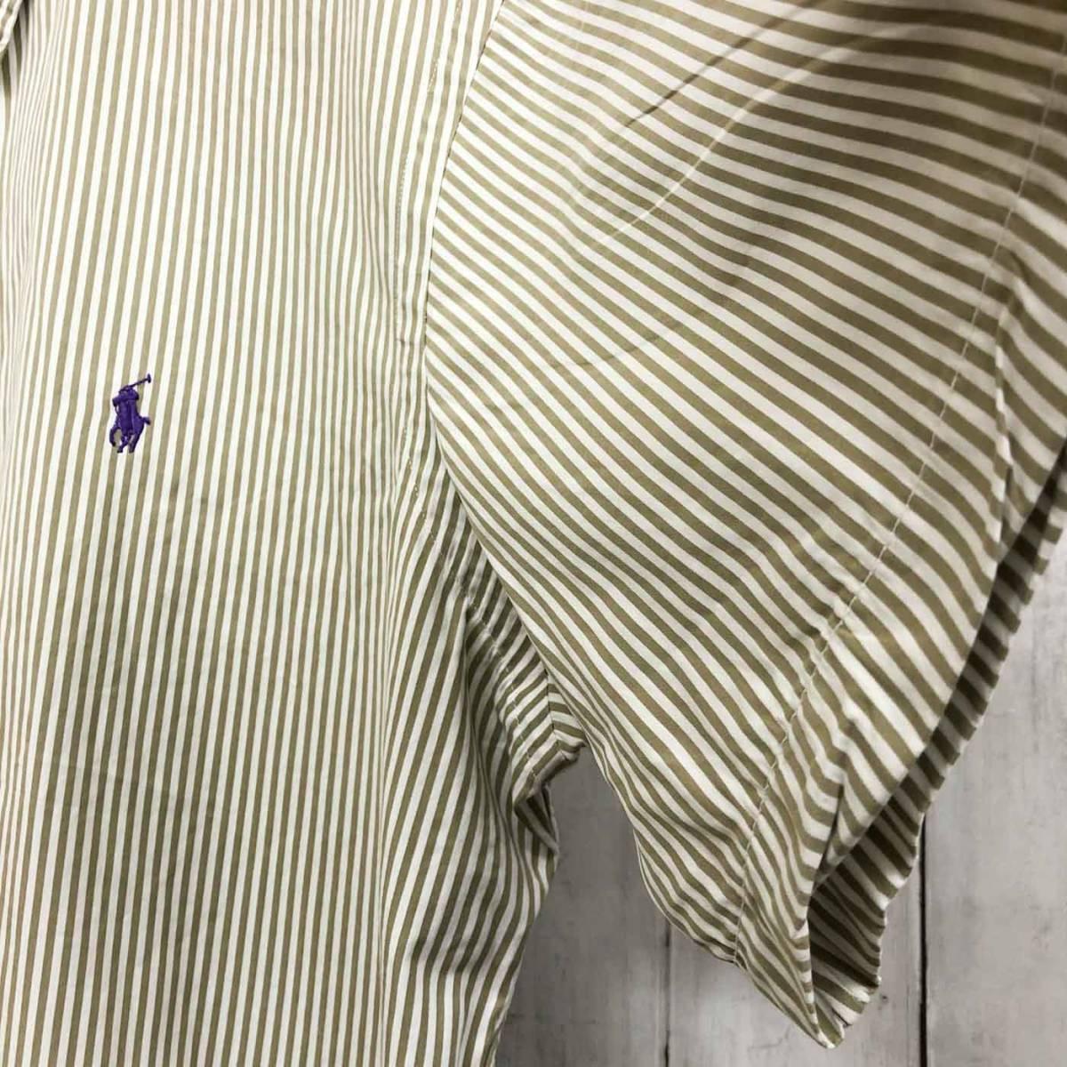 ラルフローレン POLO Ralph Lauren Polo 半袖シャツ メンズ ワンポイント XLサイズ 7-184_画像7