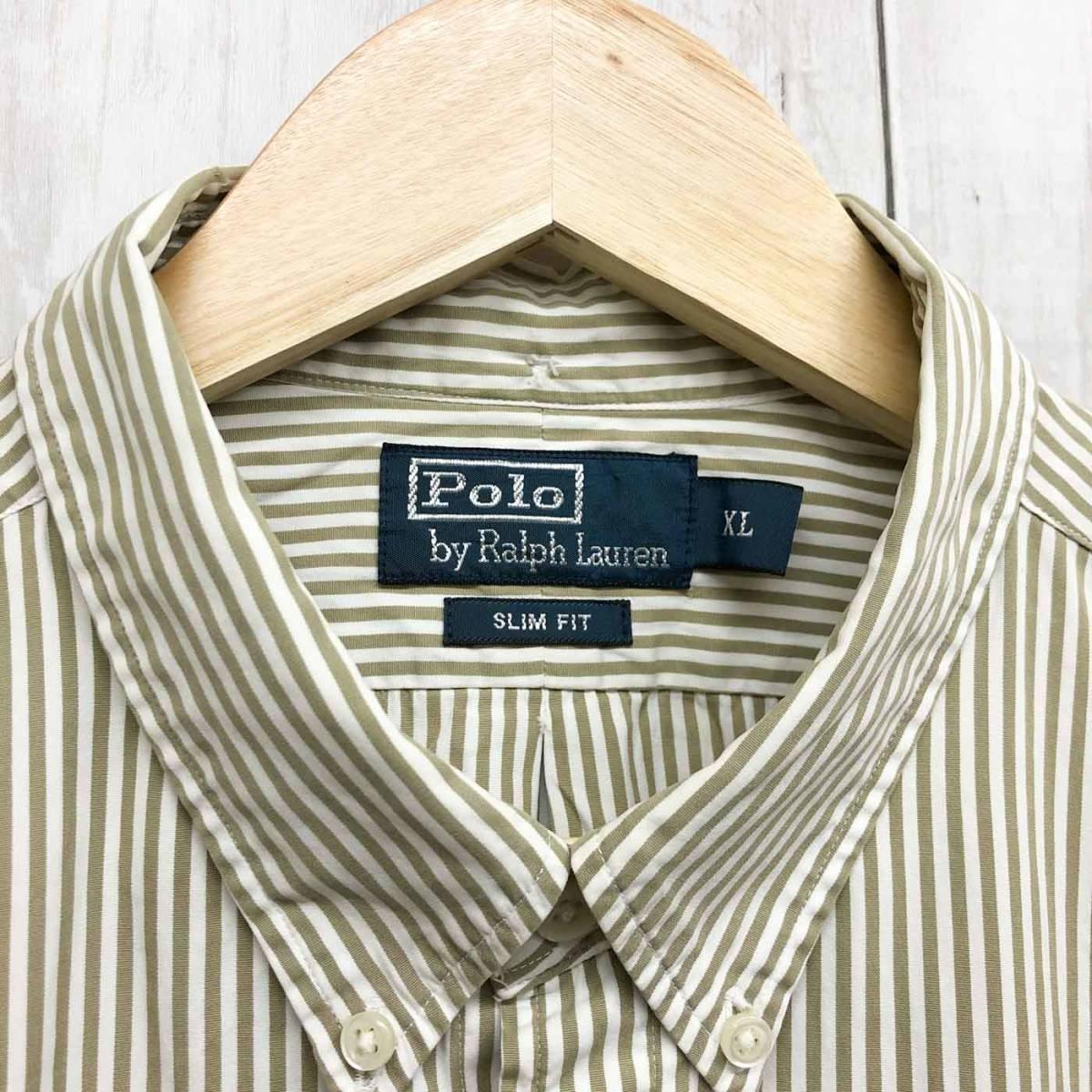 ラルフローレン POLO Ralph Lauren Polo 半袖シャツ メンズ ワンポイント XLサイズ 7-184_画像5