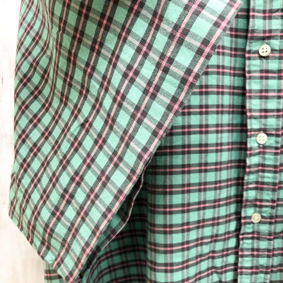 ラルフローレン POLO Ralph Lauren Polo 半袖シャツ メンズ ワンポイント 3XLサイズ 7-185_画像6