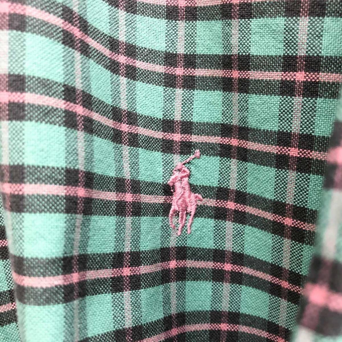 ラルフローレン POLO Ralph Lauren Polo 半袖シャツ メンズ ワンポイント 3XLサイズ 7-185_画像4