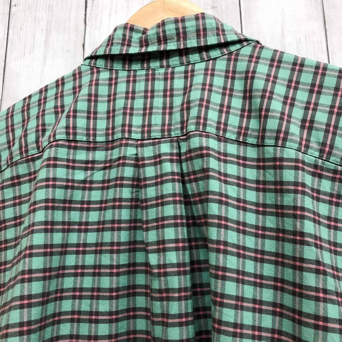 ラルフローレン POLO Ralph Lauren Polo 半袖シャツ メンズ ワンポイント 3XLサイズ 7-185_画像8
