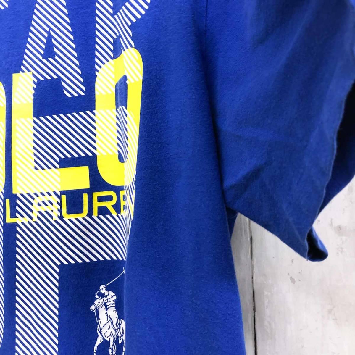 ラルフローレン POLO Ralph Lauren Polo 半袖Tシャツ メンズ ワンポイント XLサイズ 9-87_画像7