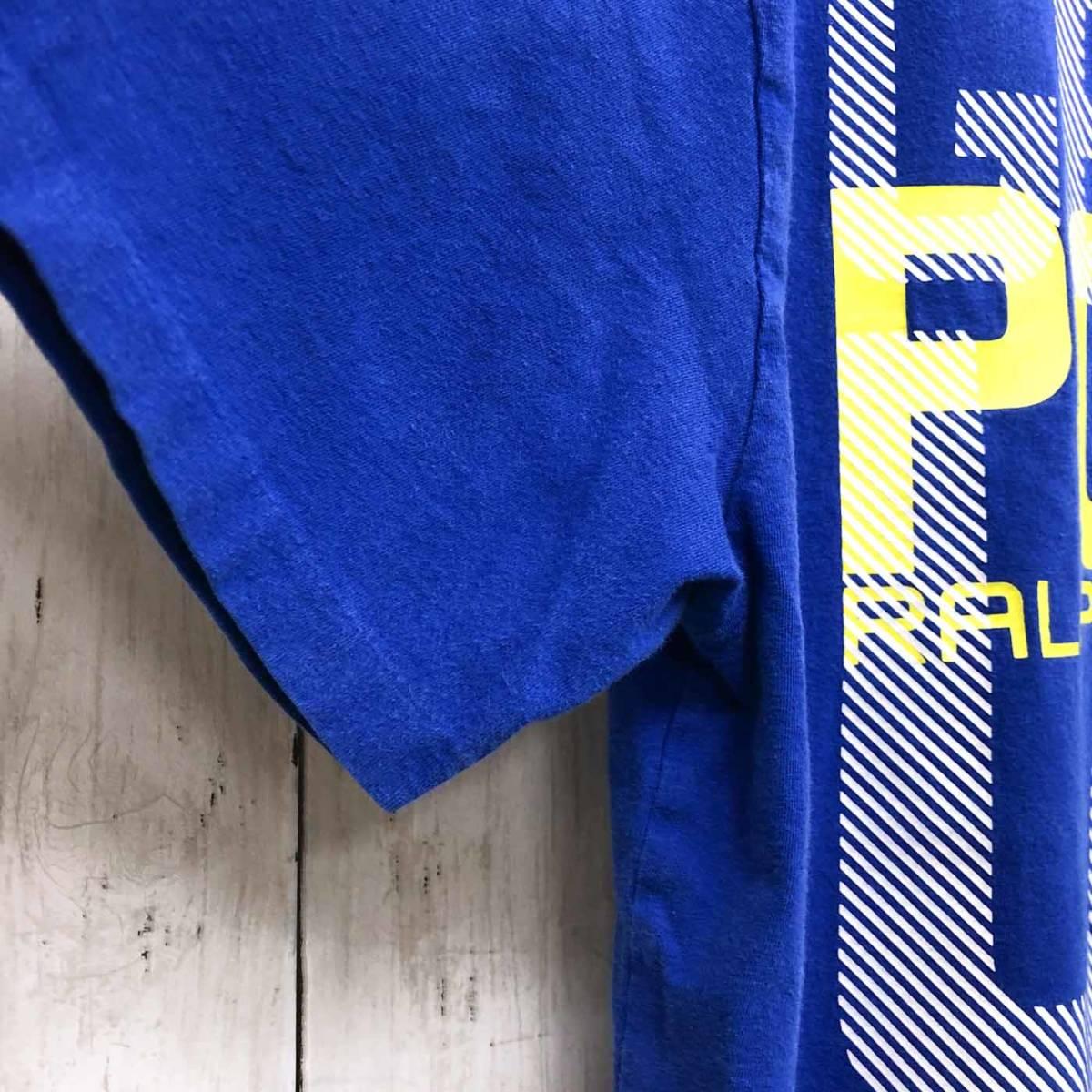 ラルフローレン POLO Ralph Lauren Polo 半袖Tシャツ メンズ ワンポイント XLサイズ 9-87_画像6