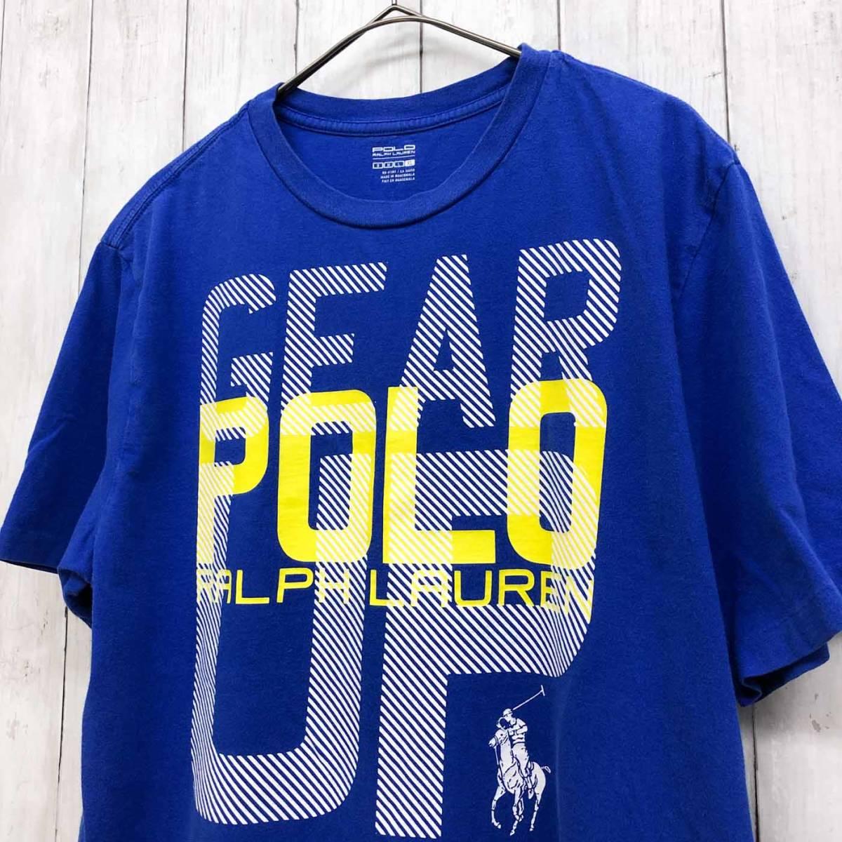 ラルフローレン POLO Ralph Lauren Polo 半袖Tシャツ メンズ ワンポイント XLサイズ 9-87_画像2