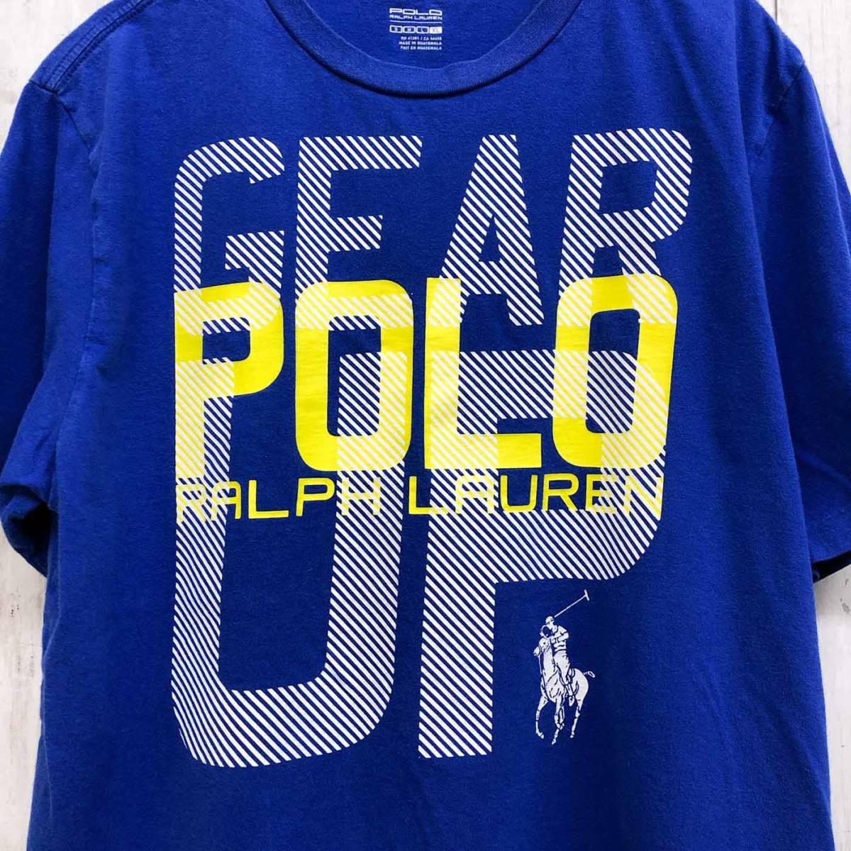 ラルフローレン POLO Ralph Lauren Polo 半袖Tシャツ メンズ ワンポイント XLサイズ 9-87_画像4