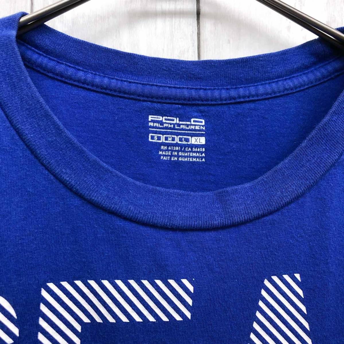 ラルフローレン POLO Ralph Lauren Polo 半袖Tシャツ メンズ ワンポイント XLサイズ 9-87_画像5