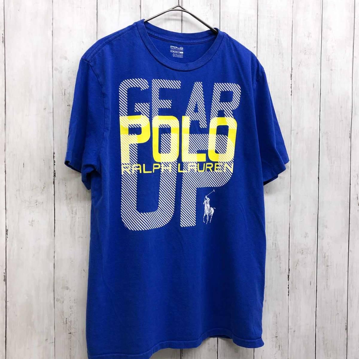 ラルフローレン POLO Ralph Lauren Polo 半袖Tシャツ メンズ ワンポイント XLサイズ 9-87_画像3