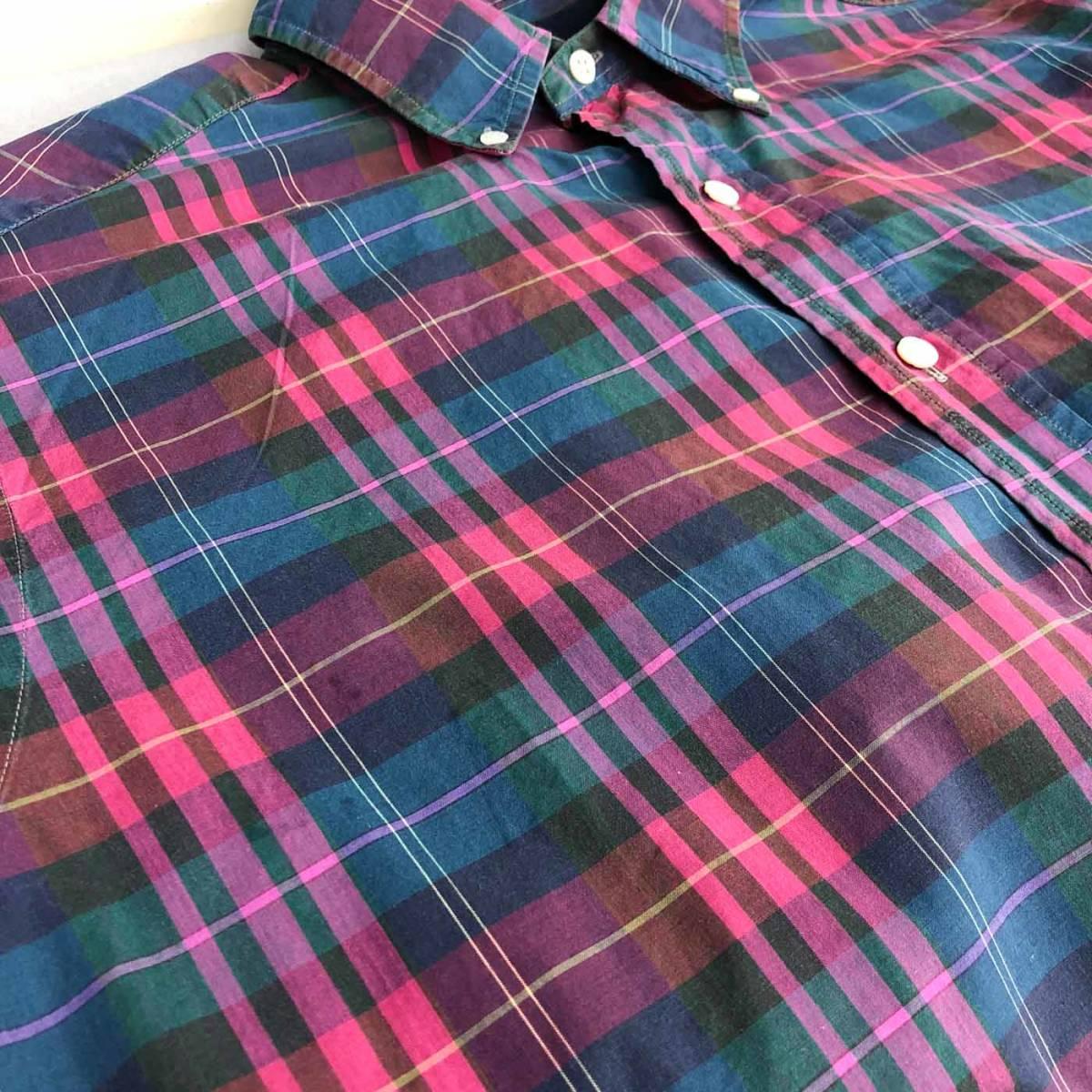 ラルフローレン POLO Ralph Lauren Polo 半袖シャツ メンズ ワンポイント Lサイズ 7-192_画像9