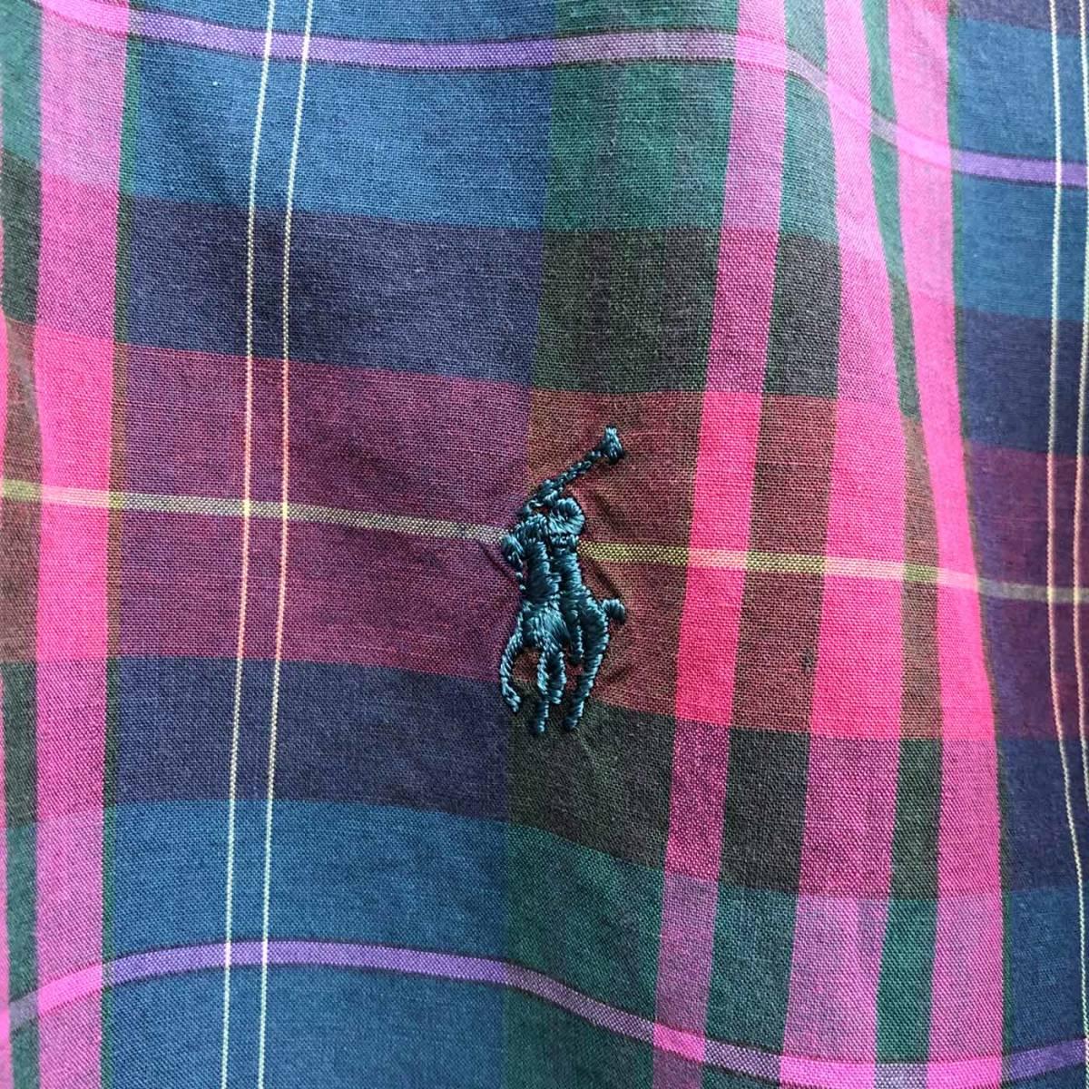 ラルフローレン POLO Ralph Lauren Polo 半袖シャツ メンズ ワンポイント Lサイズ 7-192_画像4