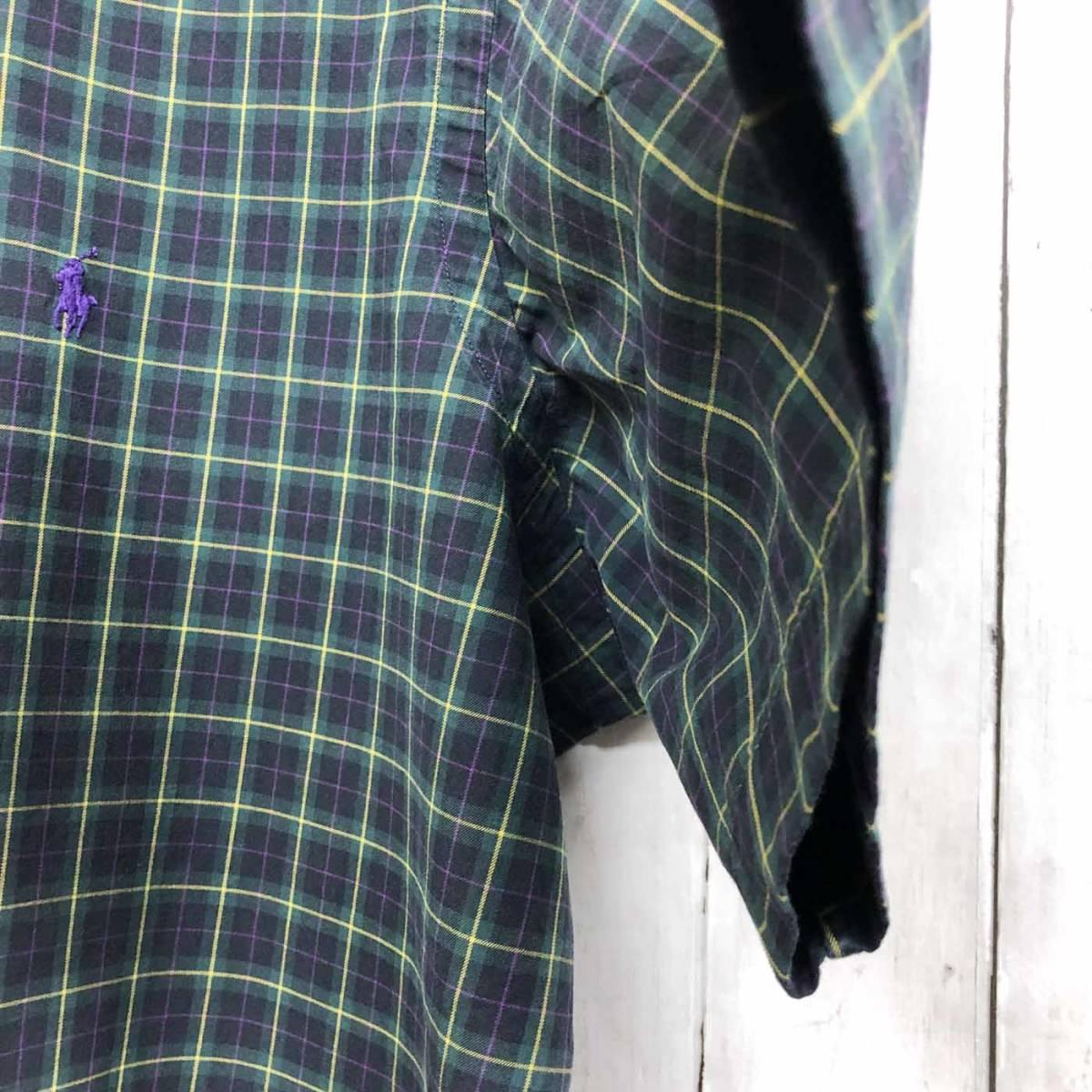 ラルフローレン POLO Ralph Lauren Polo 半袖シャツ メンズ ワンポイント XLサイズ 7-193_画像7