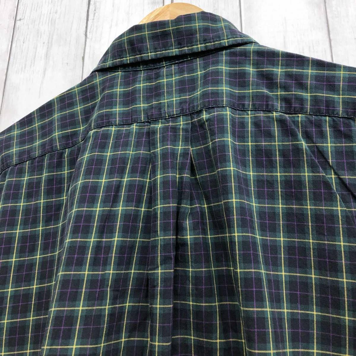 ラルフローレン POLO Ralph Lauren Polo 半袖シャツ メンズ ワンポイント XLサイズ 7-193_画像8