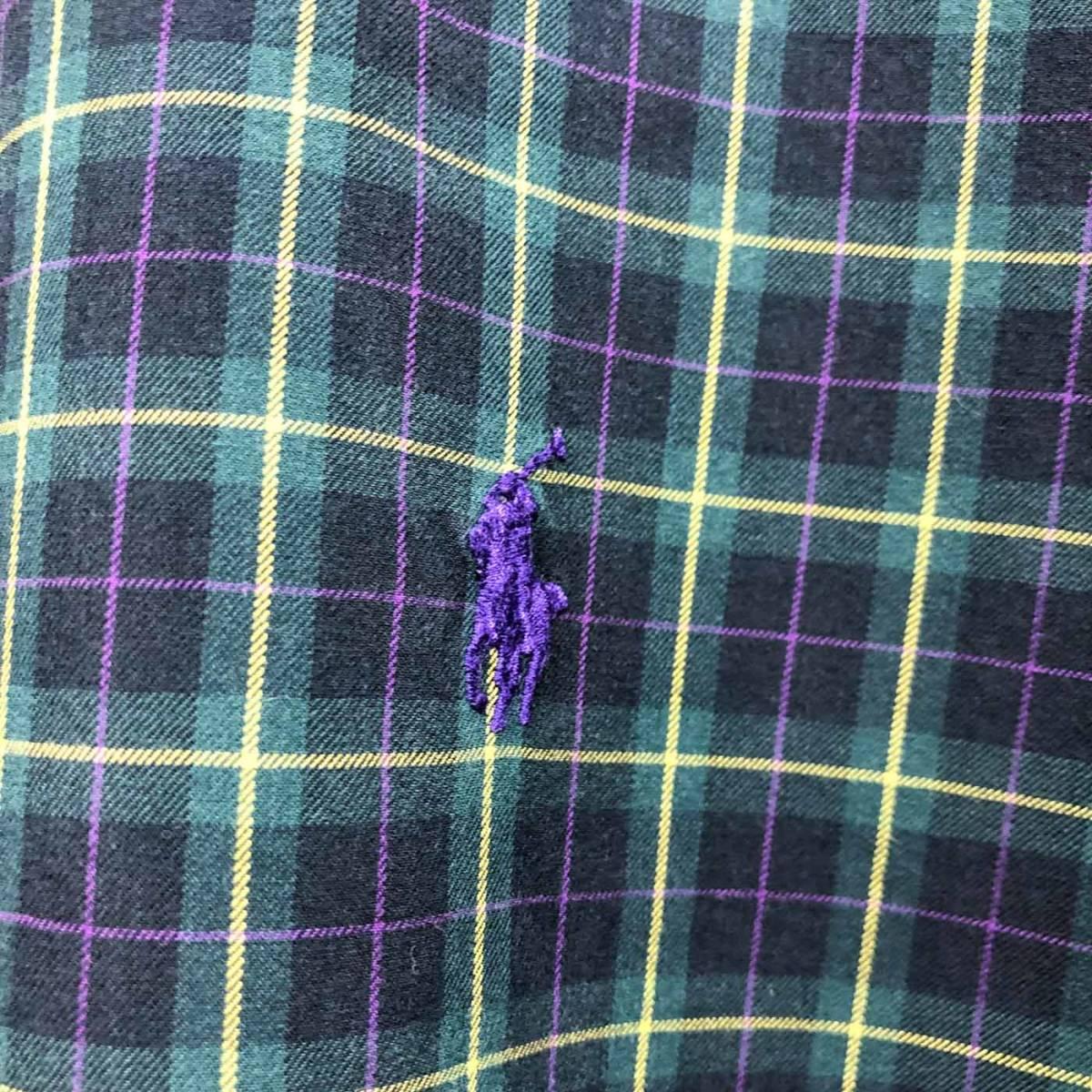 ラルフローレン POLO Ralph Lauren Polo 半袖シャツ メンズ ワンポイント XLサイズ 7-193_画像4