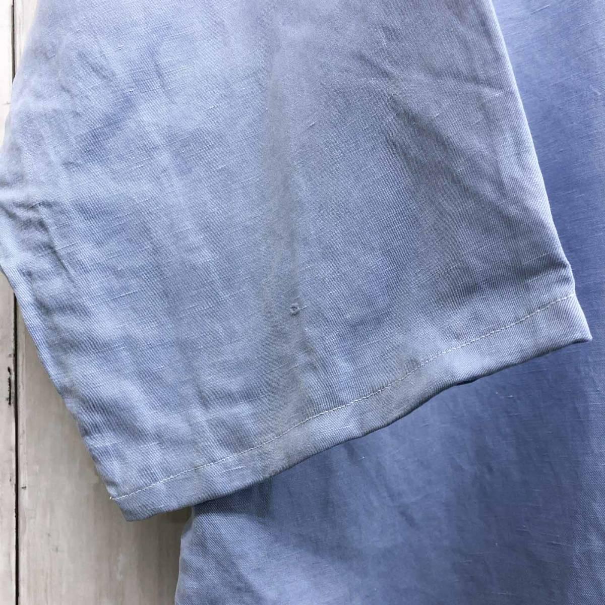 ラルフローレン POLO Ralph Lauren Polo 半袖シャツ 五分丈 メンズ ワンポイント XLサイズ 7-198_画像6