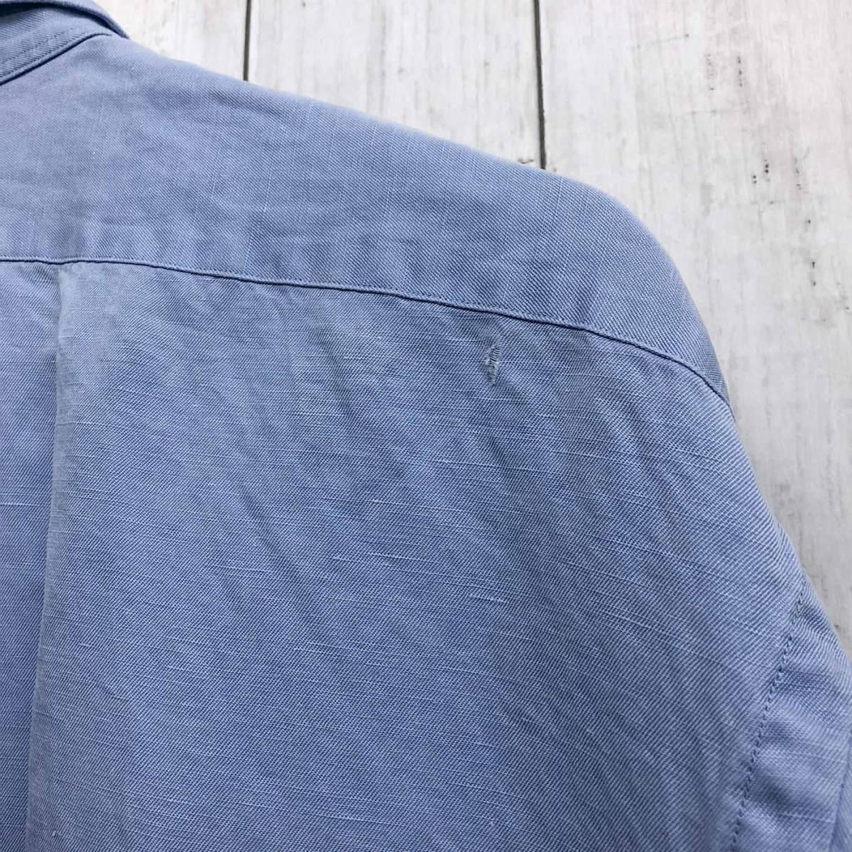 ラルフローレン POLO Ralph Lauren Polo 半袖シャツ 五分丈 メンズ ワンポイント XLサイズ 7-198_画像10