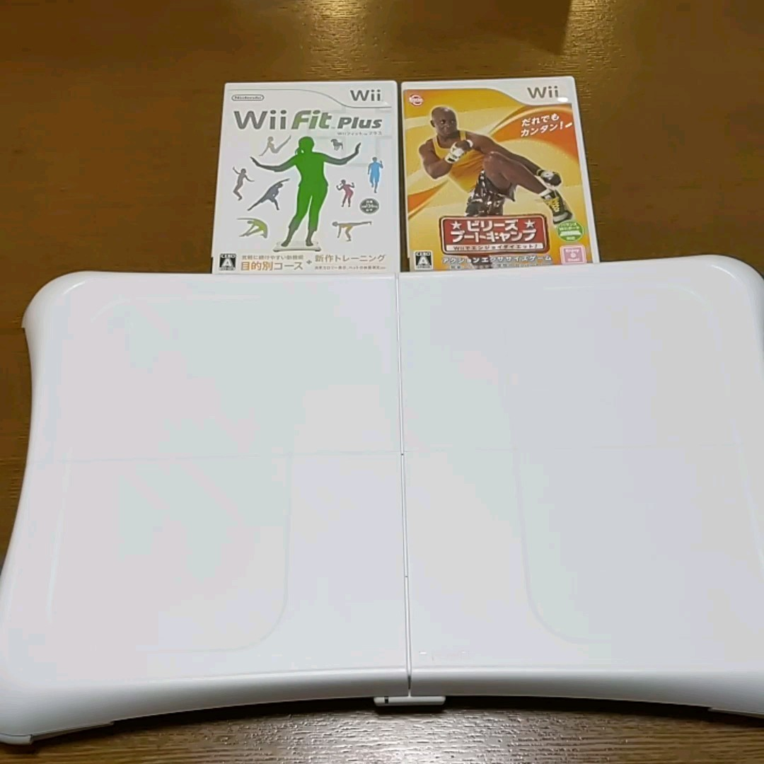 wiiフィット&ソフト2本セット