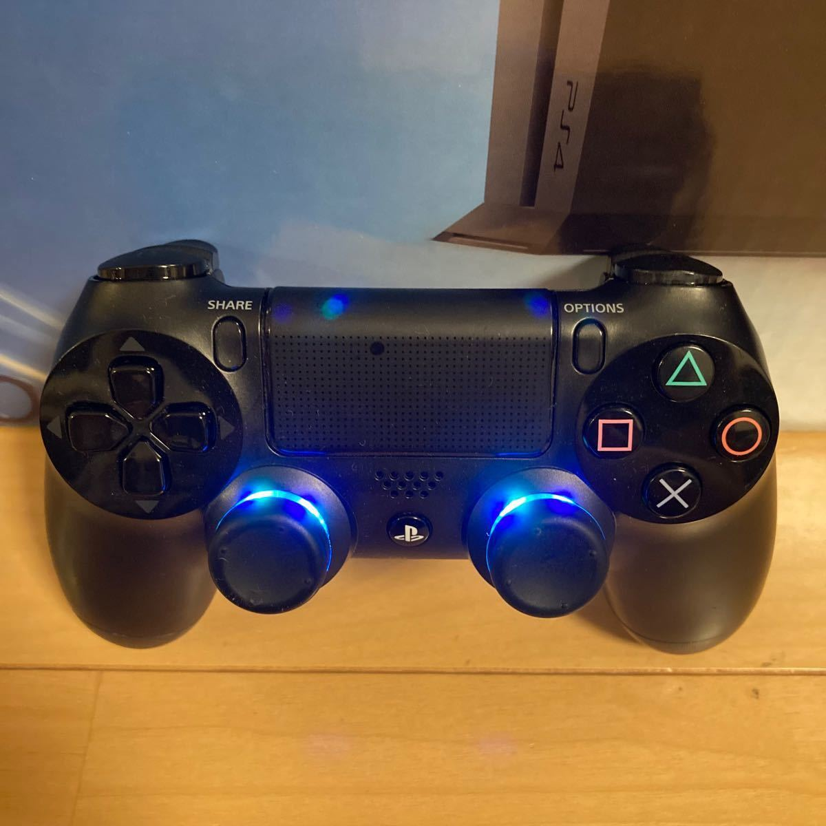 PS4 CUH-1000A 完動品 付属品セット ソフト2本付き SONY PlayStation4 ジェットブラック PS4本体