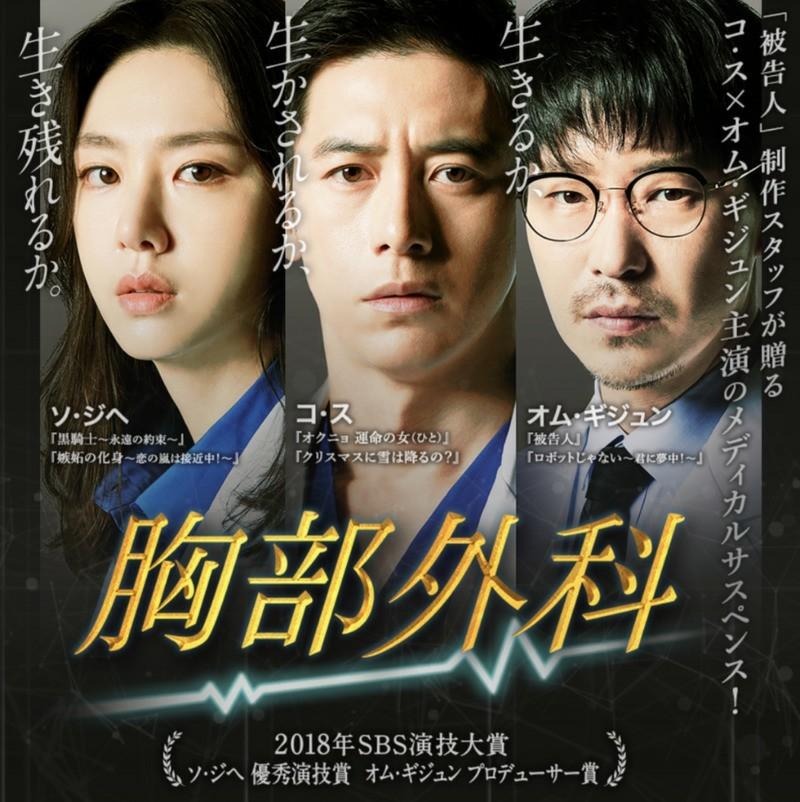 韓国ドラマ・胸部外科 DVD全話