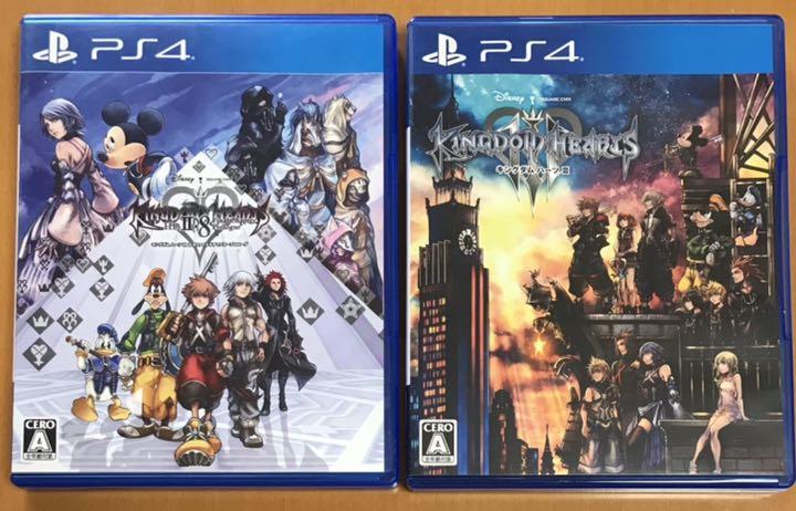2本セット送料無料 PS4 キングダムハーツ3+HD2.8 ファイナル チャプター プロローグ KINGDOM HEARTS 即決 匿名配送 動作確認済 III
