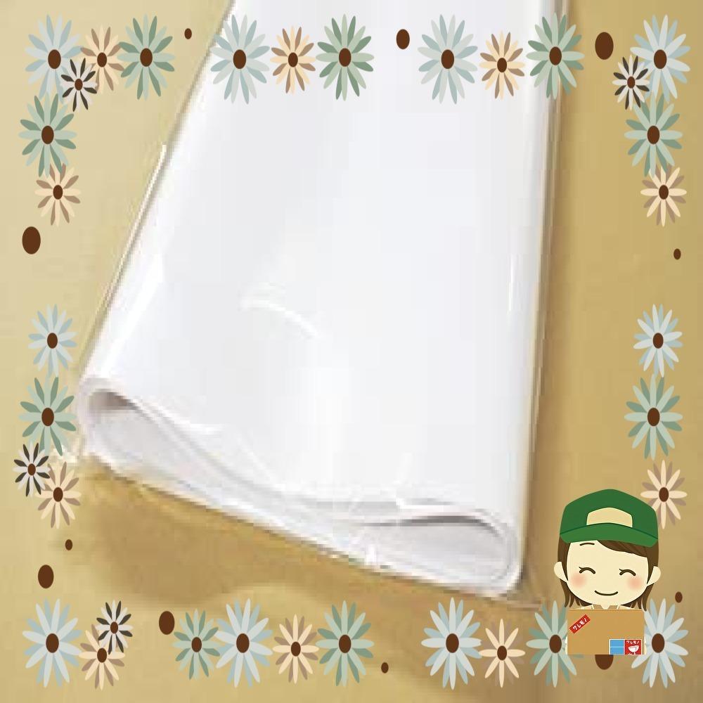 【特価】フジパック 純白紙 片面ツヤ加工 包装紙 100枚_画像2