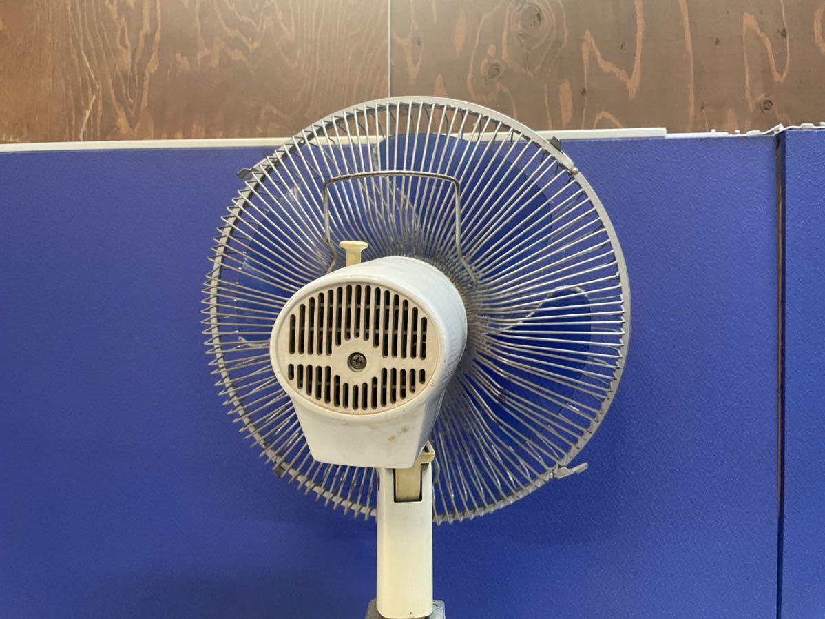 7388 昭和レトロ 東芝 TOSHIBA 扇風機 H-30AT 4枚羽 ビンテージ アンティーク 動作確認済_画像6