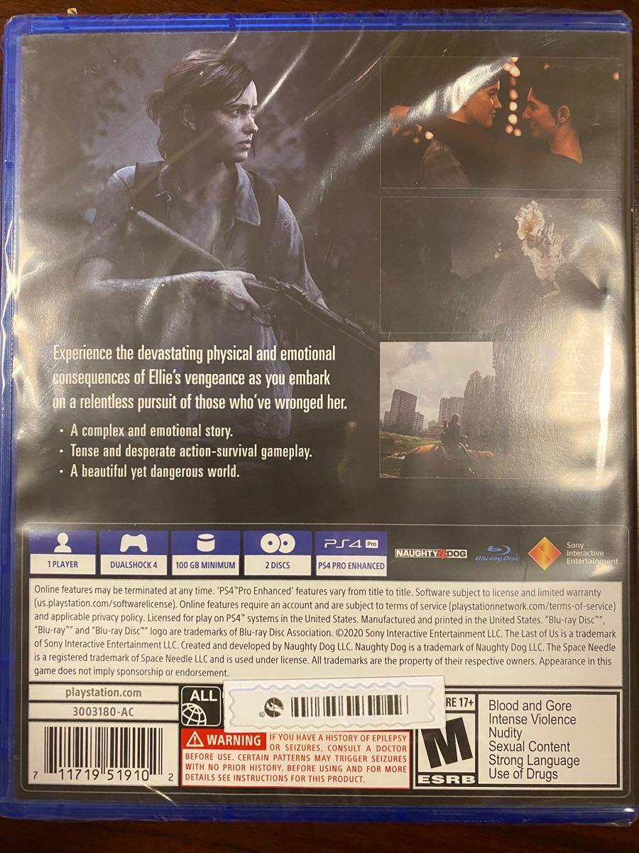 (新品)PS4 THE LAST OF US 2 北米版