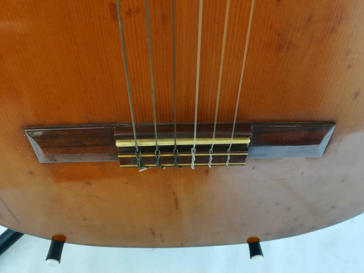 【OH4】最終出品 テラダ楽器製 クラシックギター モデル70 ギター 弦楽器 楽器 器材 中古現状品_画像6