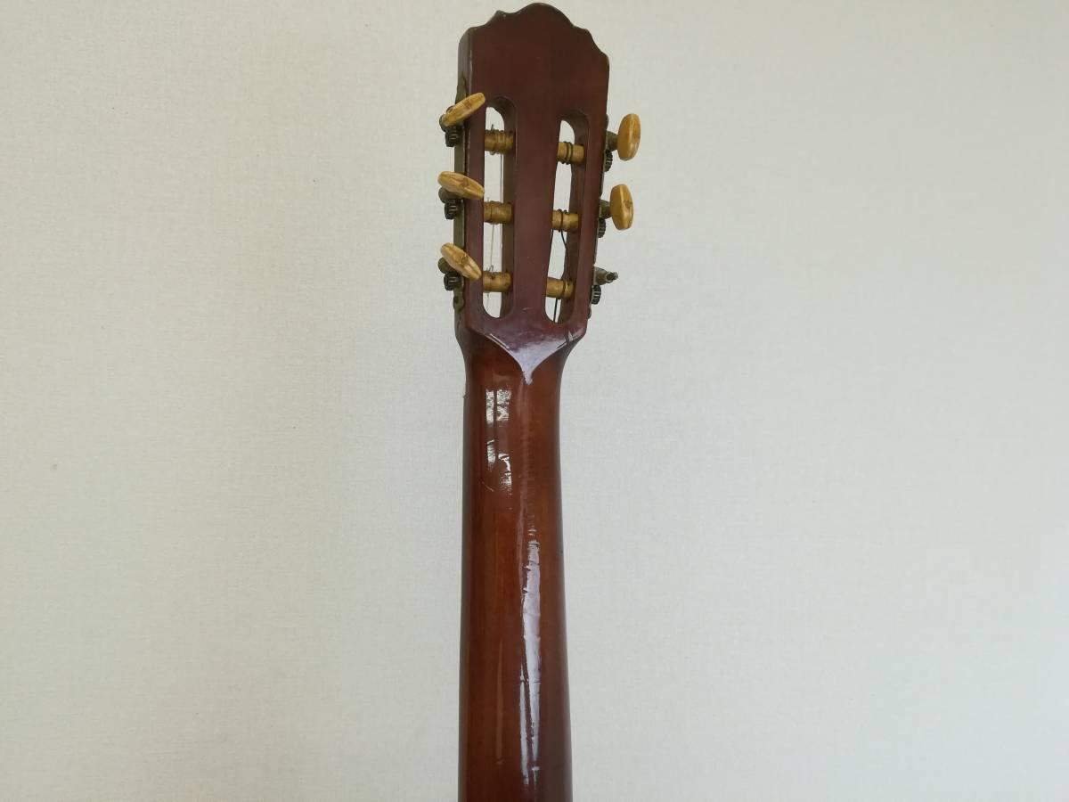 【OH4】最終出品 テラダ楽器製 クラシックギター モデル70 ギター 弦楽器 楽器 器材 中古現状品_画像8