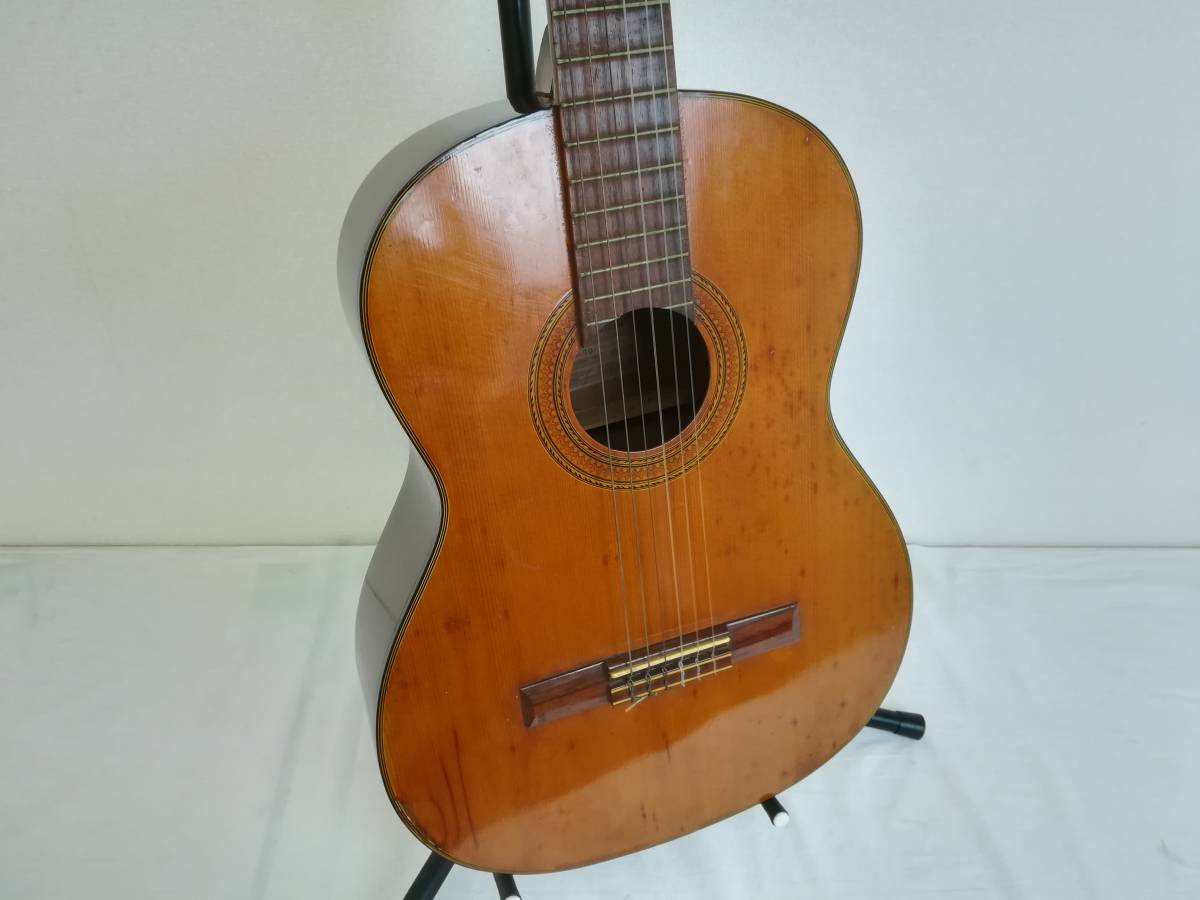 【OH4】最終出品 テラダ楽器製 クラシックギター モデル70 ギター 弦楽器 楽器 器材 中古現状品_画像2
